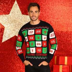 Foute heren kersttrui adventskalender 3d