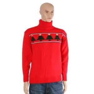 Foute rode kerst ski trui